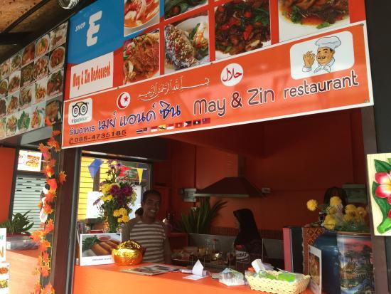 Image result for may and zin ao nang