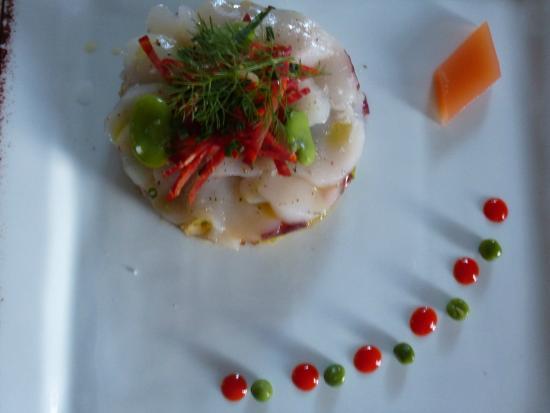 auberge de bel air : Tartare de crabe et st jaques