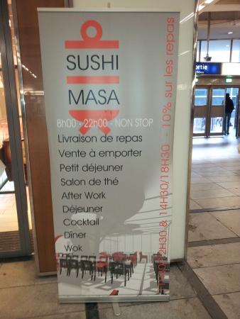 Sushi Masa : Board