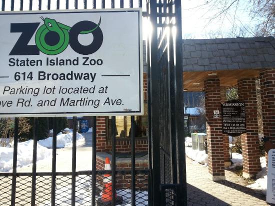 Staten Island Zoo: 小さな入口