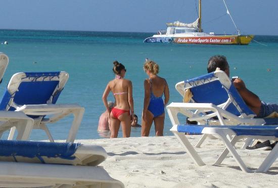 Hotel Riu Palace Aruba: beach