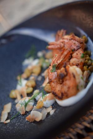 Azure Restaurant: Prawn Dahl. Amazing