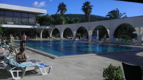 Hotel Arkada: Am Pool
