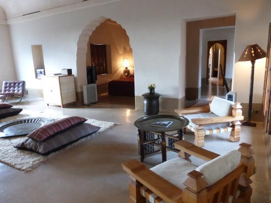 Ksar Char-Bagh : notre chambre