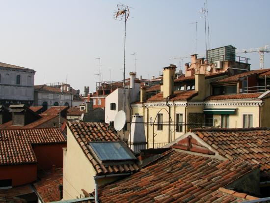 Hotel Antigo Trovatore: Вид с террасы