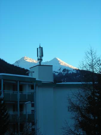 Club Hotel Davos: Ausicht mitte/rechts