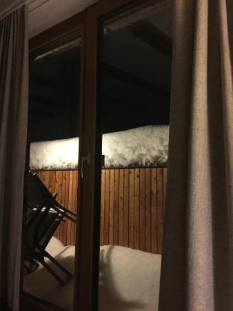 Hotel Theodul: Stimmungsbild Aussicht Abend