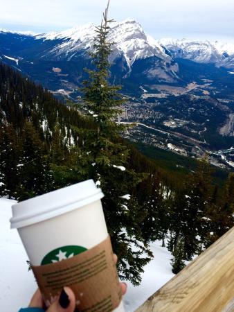 Banff Gondola : Canada's highest Starbucks