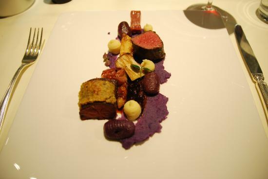 Hotel Seepark Restaurants & Bar: Der Hauptgang zum Thema Fleisch.