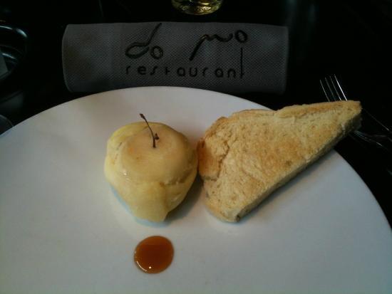 Do Mo Restaurant: Foie gras pressé à la pomme, caramel de cidre (français)