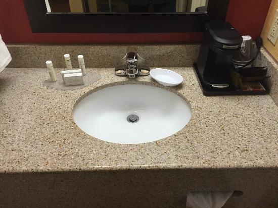 Courtyard Ann Arbor: Bathroom sink