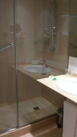 Hotel Gran Ultonia Girona: Lavabo