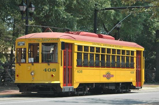 Trolley Car: Picture Of River Rail Electric Streetcar