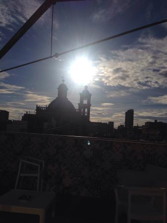 Hotel les Monges Palace Boutique: View from the roof terrace