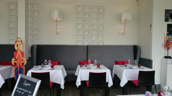 Le Bistrot Gourmand : la salle