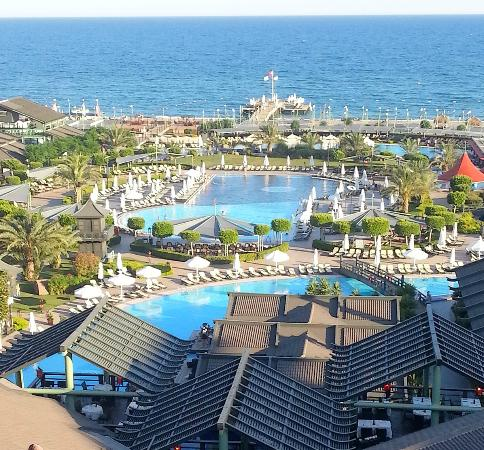 Limak Lara De Luxe Hotel&Resort: balcony view if you're lucky to take couple's suite
