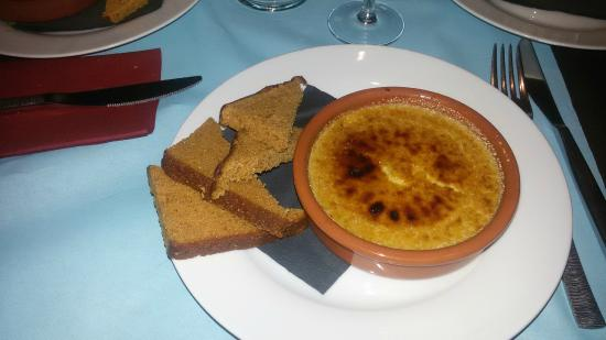 Batofar : creme brulee de fois gras