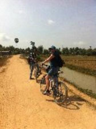Siem Reap, Cambodia: Bike tour
