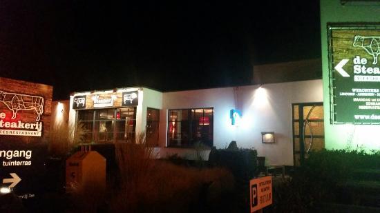 Werchter, Belgium: De steakerij