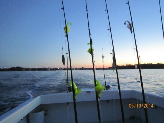Chesapeake Bay: Fishing rods