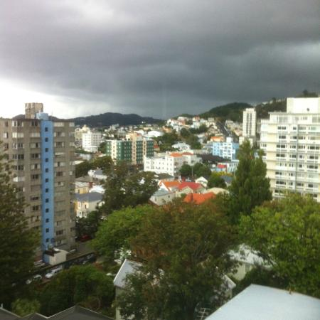 Mercure Wellington: Day view from 9th floor room