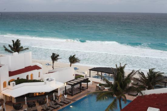 balcony view picture of gr caribe by solaris cancun. Black Bedroom Furniture Sets. Home Design Ideas