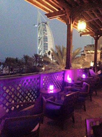 Bahri Bar : vista Burj al arab