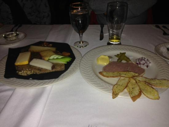 Louisiana Purchase: Veal Pate and Cheese Plate