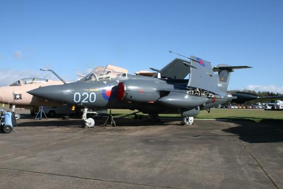 Bruntingthorpe Air Museum: Hawker Siddeley Buccaneer
