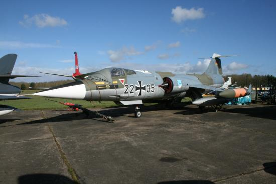 Bruntingthorpe Air Museum: Lockheed F-104G Starfighter