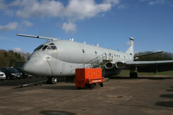 Bruntingthorpe Air Museum: Hawker Siddeley Nimrod
