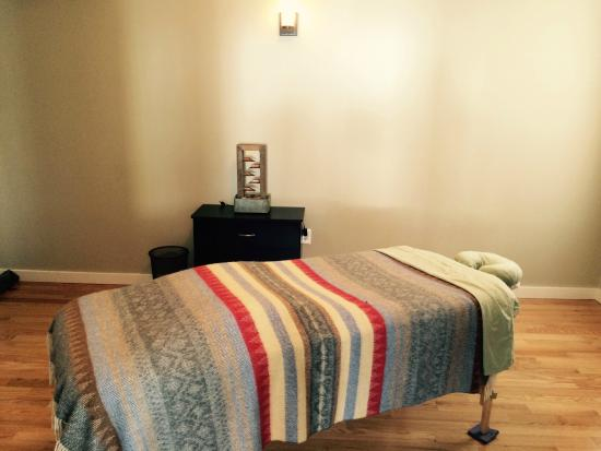 Tannersville, NY: Exquisitely Comfortable Massage Table!!!