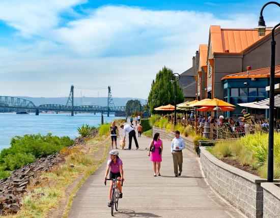 Vancouver Wa Columbia River Waterfront Renaissance Trail