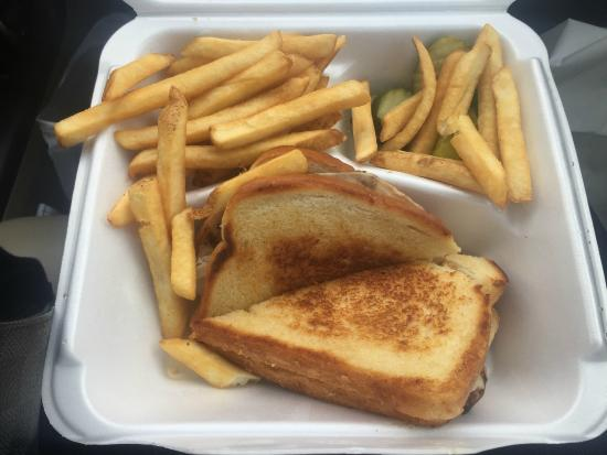 Kranberry's Chatterbox: Turkey Melt and Fries