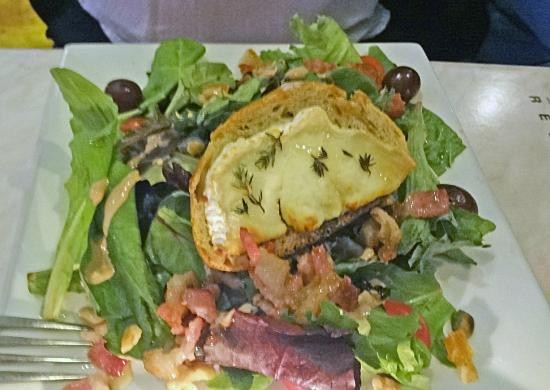 Salad picture of otentic fresh food restaurant miami for Absolutely delish cuisine