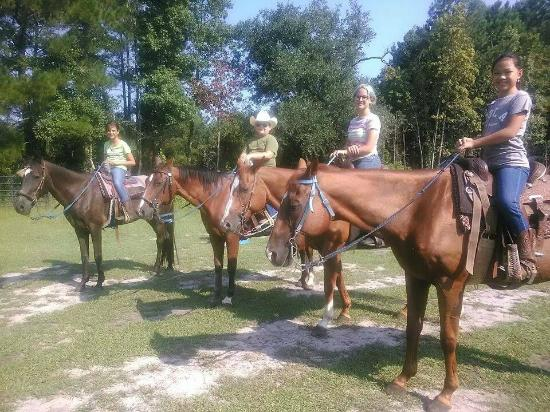 Garden City, GA: Excellent Class of Horsemanship Students!
