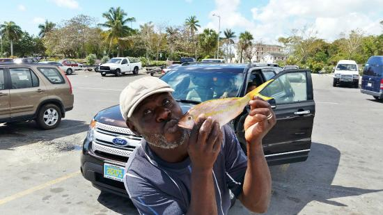 Nassau Fishermen S Dock Quot Go On And Kiss The Fish