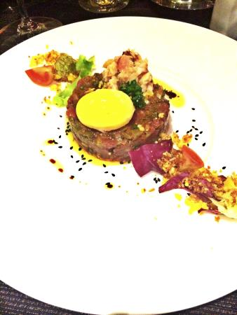 The Arches : Starer beef tartar