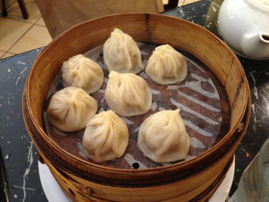 Bund Shanghai Restaurant: pork dumplings