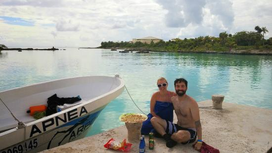 Spearfishing Playa del Carmen : Stopping for ceviche