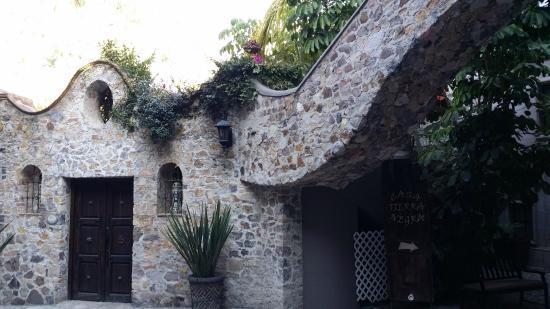 Hotel Casa Tierra Negra : patio central