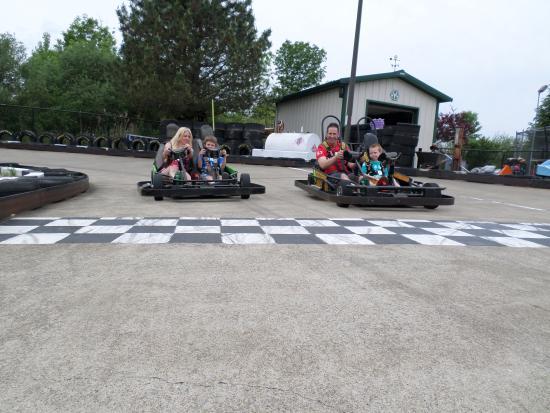 Гранд-Айленд, Нью-Йорк: Go Karts!!