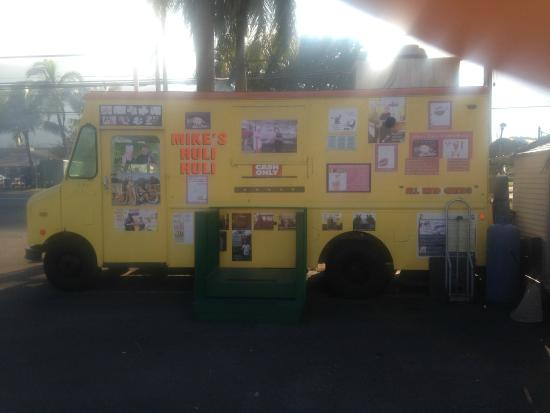 Mike's Huli Chicken: Mikes huli huli Food Truck