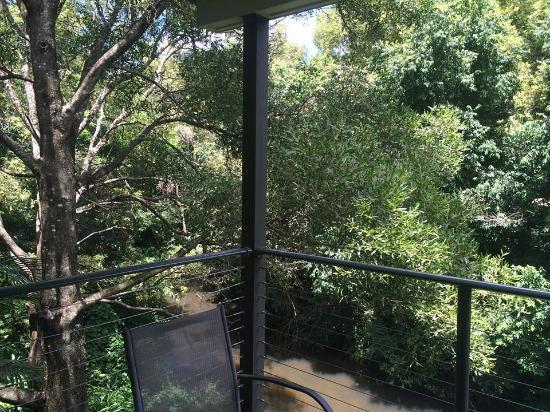 Pomodoras on Obi: The amazing view from the balcony