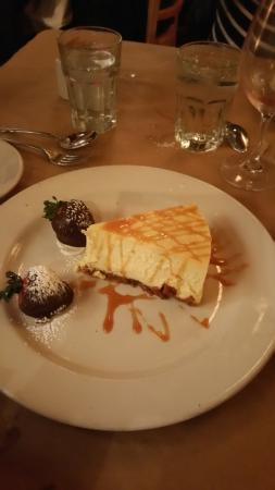 Carmine's on Penn: best cheesecake! !