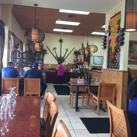 Ruchi Indian Restaurant Dining Room Facing The Buffet Area