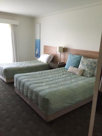 Spring Resorts Shoalhaven Sports Motel: spacious room