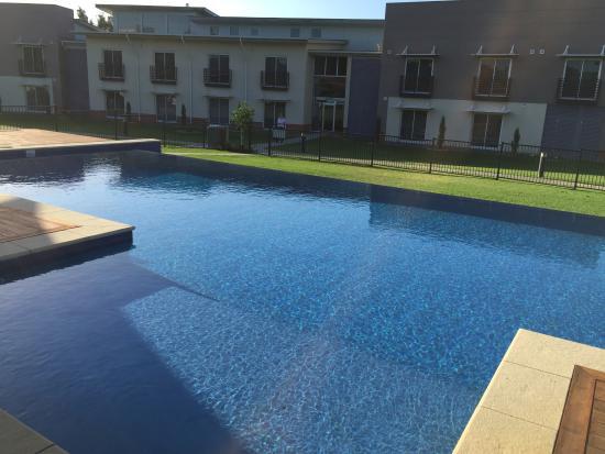 Spring Resorts Shoalhaven Sports Motel: lovely pool