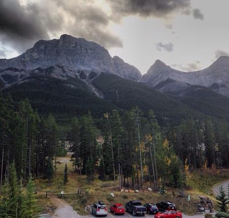 WorldMark Canmore-Banff: View from our south facing room.