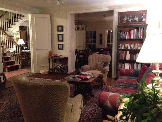 Montford Inn and Cottages : Living Room/Common Area